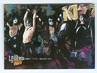 Kiss trading card Kiss The Legend 2010 #17 Gene Simmons Ace Frehley Paul Stanley Peter Criss