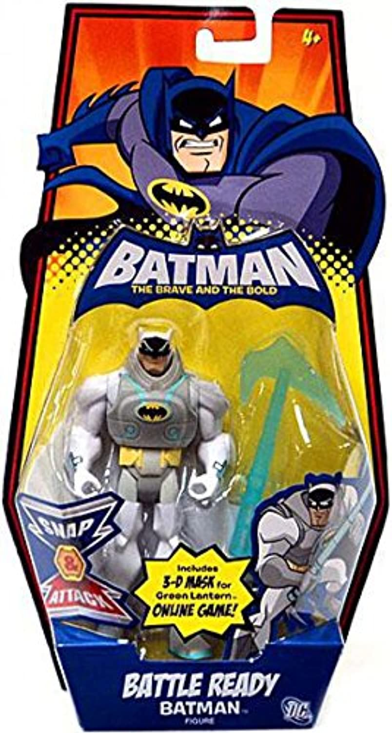 DC Batman Brave and the Bold Collectable Action Figure  Battle Ready Batman
