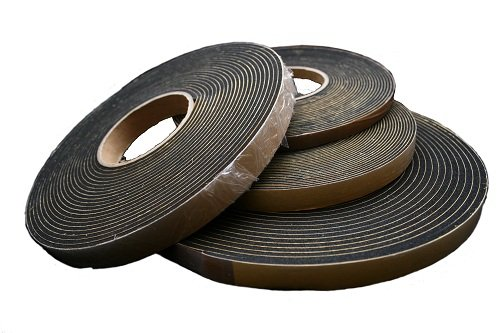 Zellkautschukband / Dichtungsband / Dichtband EPDM 10m Rolle (20x4mm)