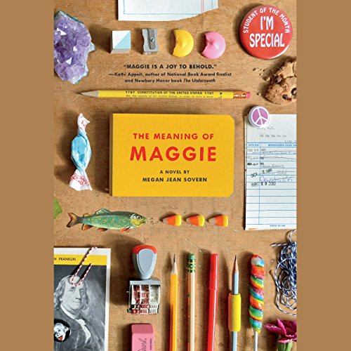The Meaning of Maggie audiobook cover art
