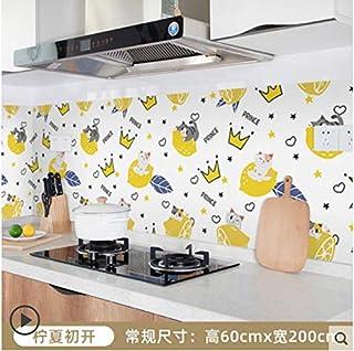 Autocollant mural étanche pour armoire de cuisine carrelée étanche à l'huile pour cuisinière 9