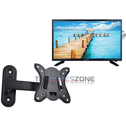 Find Discount Supersonic SC-2412 24 LED Widescreen HDTV with DVD Player + Wall Mount.