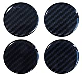 Tapacubos 3D – 910034 Carbon Negro – Tapa de llanta 60 mm – Lámina de...