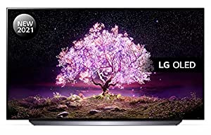 LG OLED55C14LB 55 inch 4K UHD HDR Smart OLED TV (2021 Model) with Advanced α9 Gen4 AI processor, 4K SELF-LIT OLED, Dolby Vision IQ and Dolby Atmos, built-in Google Assistant and Alexa