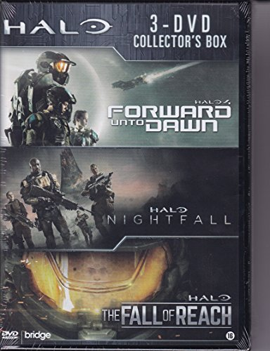 Halo box 1-3, (DVD)