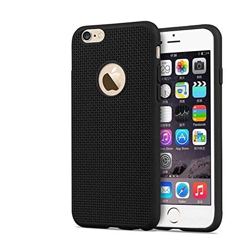 4a58371ece ISaveSoft Silicone Grid Design Back Case Cover For iPhone 5/5s , Black