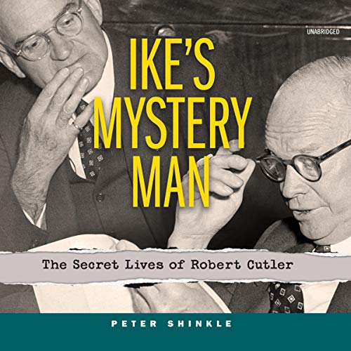 Ike's Mystery Man audiobook cover art