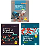 Problems in Chemistry for NEET/AIIMS ( Organic + Inorganic + Physical Chemistry ) Set Of 3 Books ( Exam - 2020 - 2021 )