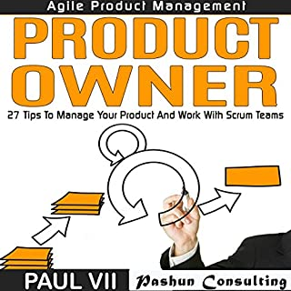 Agile Product Management: Product Owner audiobook cover art