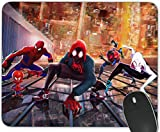 Gaming Mouse Pad ,Rectangle and Round Mousemat Non-Slip Rubber Mouse Pads for Office Computers Laptops The Best Gift (Spider Man)