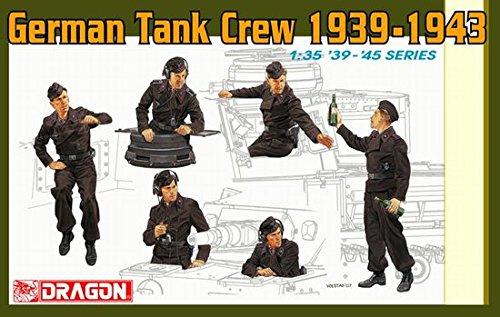 Dragon Models Panzer IV Crew Model Kit (1/35 Scale)