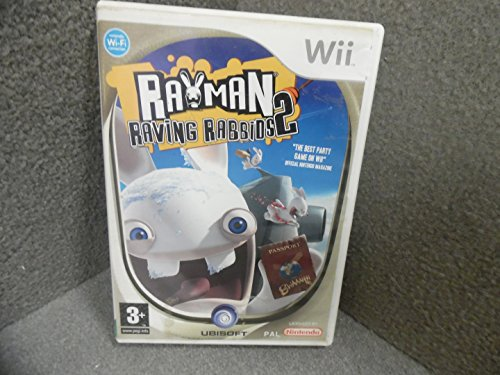 Rayman: Raving Rabbids 2 (Wii) [Importación inglesa]