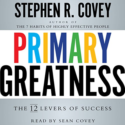 Primary Greatness audiobook cover art