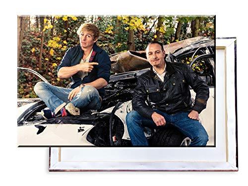 Unified Distribution Alarm für Cobra 11-60x40 cm Kunstdruck auf Leinwand • erstklassige Druckqualität • Dekoration • Wandbild