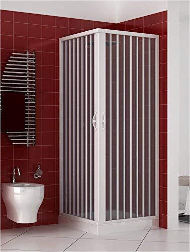 Box Doccia 70x90 in PVC MOD. Acquario con Apertura Centrale