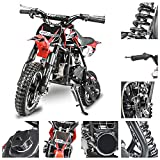 Fit Right 2020 DB001 49CC 2-Stroke Kids Dirt Off Road Mini Dirt Bike,...