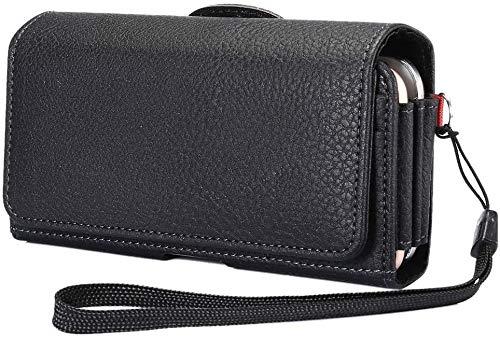 Dual Gürtelclip Holster Hülle für 2 Handys iPhone 12 Pro Max 11 Max, doppelte Handy Gürtelschlaufe Halter Tasche Samsung Galaxy S20 Plus FE 5G Note 20 9 OnePlus 7 Pro, 7T, 8T, 6T