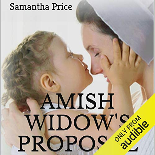 Amish Widow's Proposal audiobook cover art