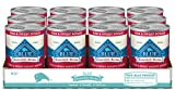 Blue Buffalo Homestyle Recipe Natural Adult Wet Dog Food, Fish & Sweet Potato 12.5-oz can (Pack of 12)
