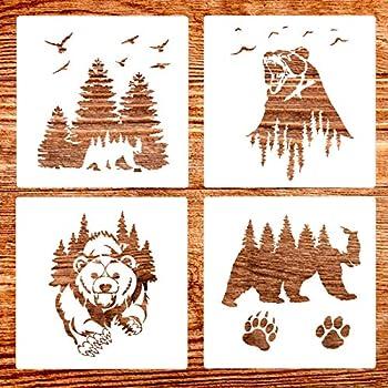 Best wild life stencils Reviews