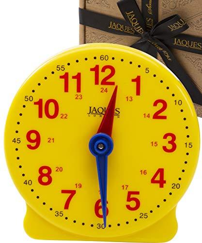 Jaques of London Uhr Zum Lernen Montessori Spielzeug ab 3 4 5 6 7 Jahre – perfekt lernspielzeug ab 2 3 4 5 6 Jahre seit 1795