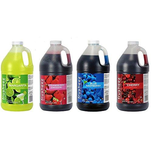 Frusheez Slush & Slushy Mix 1/2 Gallon Choose Your Own Flavors (Four Pack)