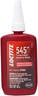 Loctite 492145 545 Pneumatic/Hydraulic Thread Sealant Bottle, 36-Milliliter