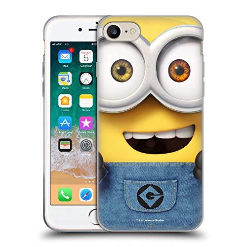 Head Case Designs Ufficiale Despicable Me Bob Minions Tutto Il Viso Cover in Morbido Gel Compatibile con Apple iPhone 7 / iPhone 8 / iPhone SE 2020