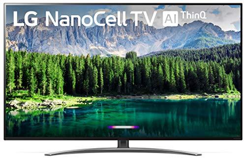 LG 49SM8600PUA Nano 8 Series 49' 4K Ultra HD Smart LED NanoCell TV (2019), Black