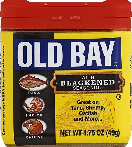 Old Bay Seasonings Blackened, 1.75 oz