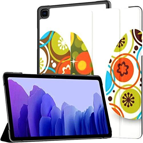 Funda para Tableta Samsung A7 Tres Huevos de Pascua aislados en Blanco Funda para Samsung Galaxy Tab A7 10,4 Pulgadas Funda Protectora de liberación 2020 Funda Protectora para Samsung Galaxy A7 Funda
