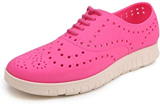 2018 Sandals Women and Men Clogs Sandals Small Hollow Vamp Slip On Beach Shoes (Color : Pink, Size : 39 EU)