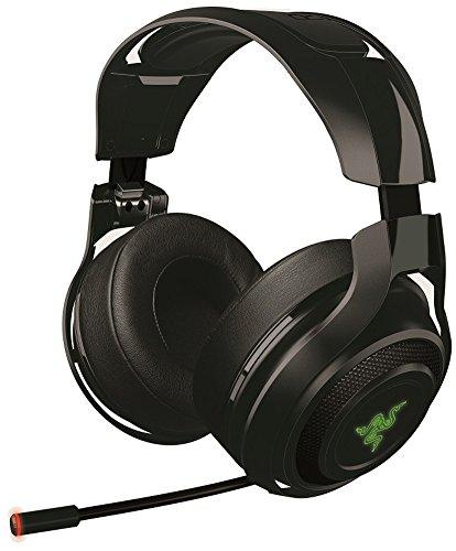 Razer Mano'war Gaming Headset (Over-Ear Kabelloser 7.1 Surround Sound, RGB Beleuchtet für PC, MAC und PS4)