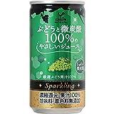神戸居留地 ぶどうと微炭酸100% 缶 185X20