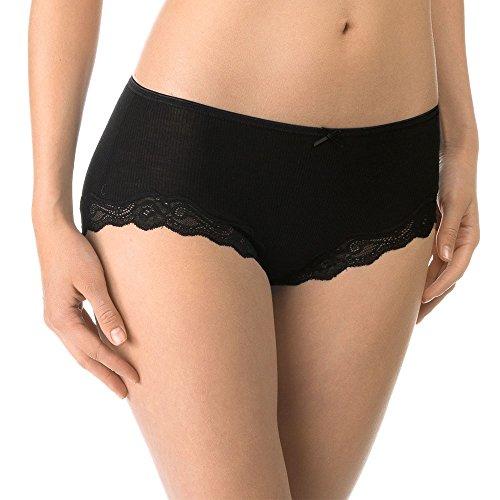 CALIDA Damen Richesse Lace Panty Panties, Schwarz, 40-42