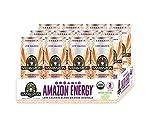 Sambazon Organic, Low Calorie Amazon Energy Drink, Blood Orange Acerola, 12...