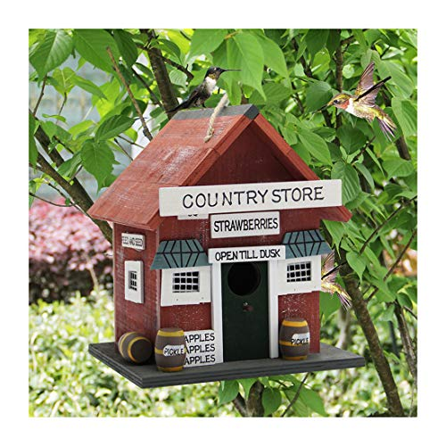 MorTime Wood Bird House