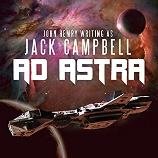 Ad Astra audiobook cover art