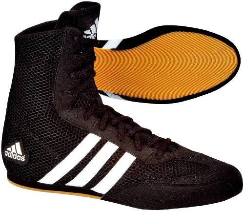adidas Schuhe Box Hog, black / black / running white, 4.0, 116373