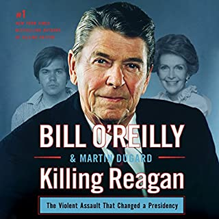 Killing Reagan audiobook cover art