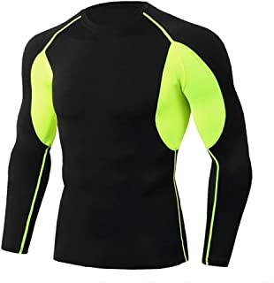 Full Sleeve Workout Shirts Dri Fit Compression Top For Gym
