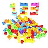 La Cabina Enfant Jouets 110PCS Bâtiments Mignon Assemblé et Superposé Brique de Construction en Plastique Développement Jeu de...