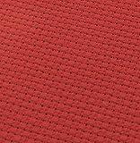 19' x 28' 14CT Counted Cotton Aida Cloth Cross Stitch Fabric (Red)