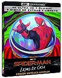 SPIDER-MAN: LEJOS DE CASA (4K + BD + BD EXTRAS + GALLERY BOOK) (ED ESPECIAL METAL) [Blu-ray]