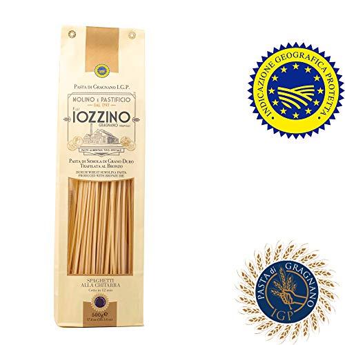 Pastificio F.lli Iozzino - Pasta di Gragnano IGP - Spaghetti alla chitarra 3Kg (6x500gr)