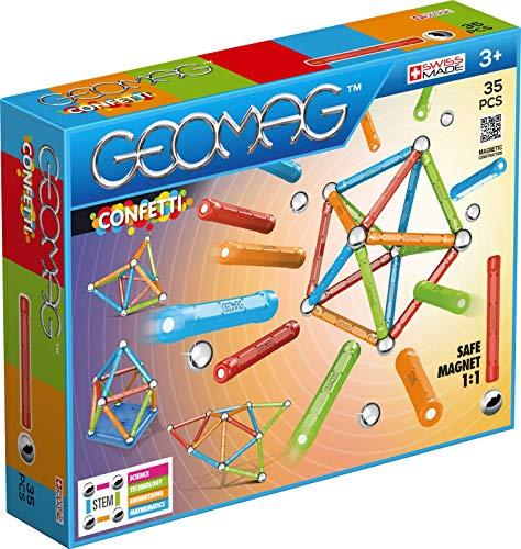 Geomag- Confetti Gioco di Costruzione Magnetico, Multicolore, 35 Pezzi, 351