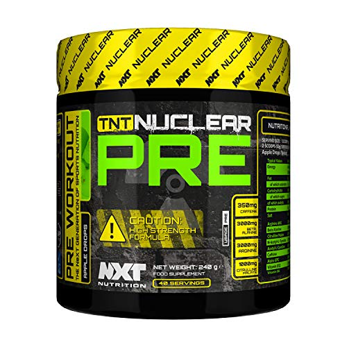 NXT Nutrition TNT PRE 250ml (Apple & Blackcurrant)