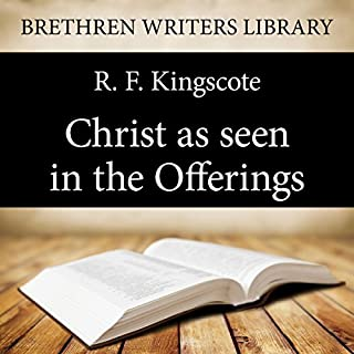 Christ as Seen in the Offerings audiobook cover art