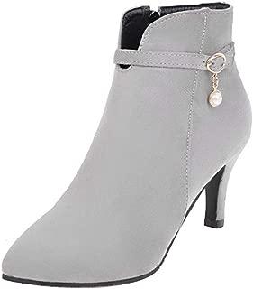 MisaKinsa Women Fashion Ankle Booties High Heels