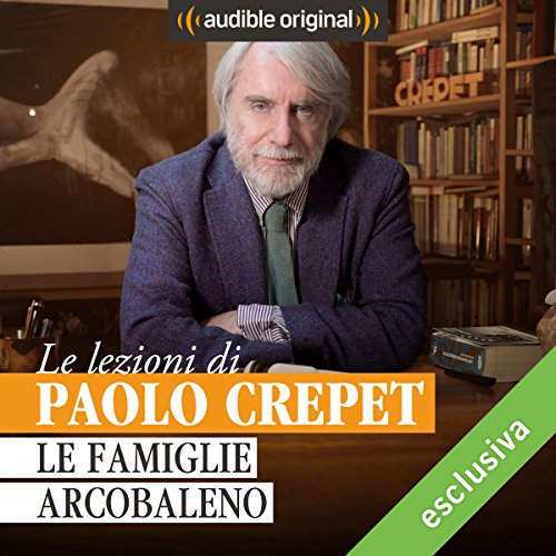 Le famiglie arcobaleno audiobook cover art